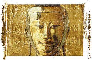 Golden Buddha, Yangon, Burma 0001